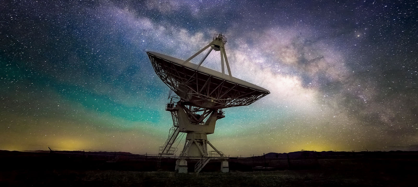 "The ""Very Large Array"" used by SETI"